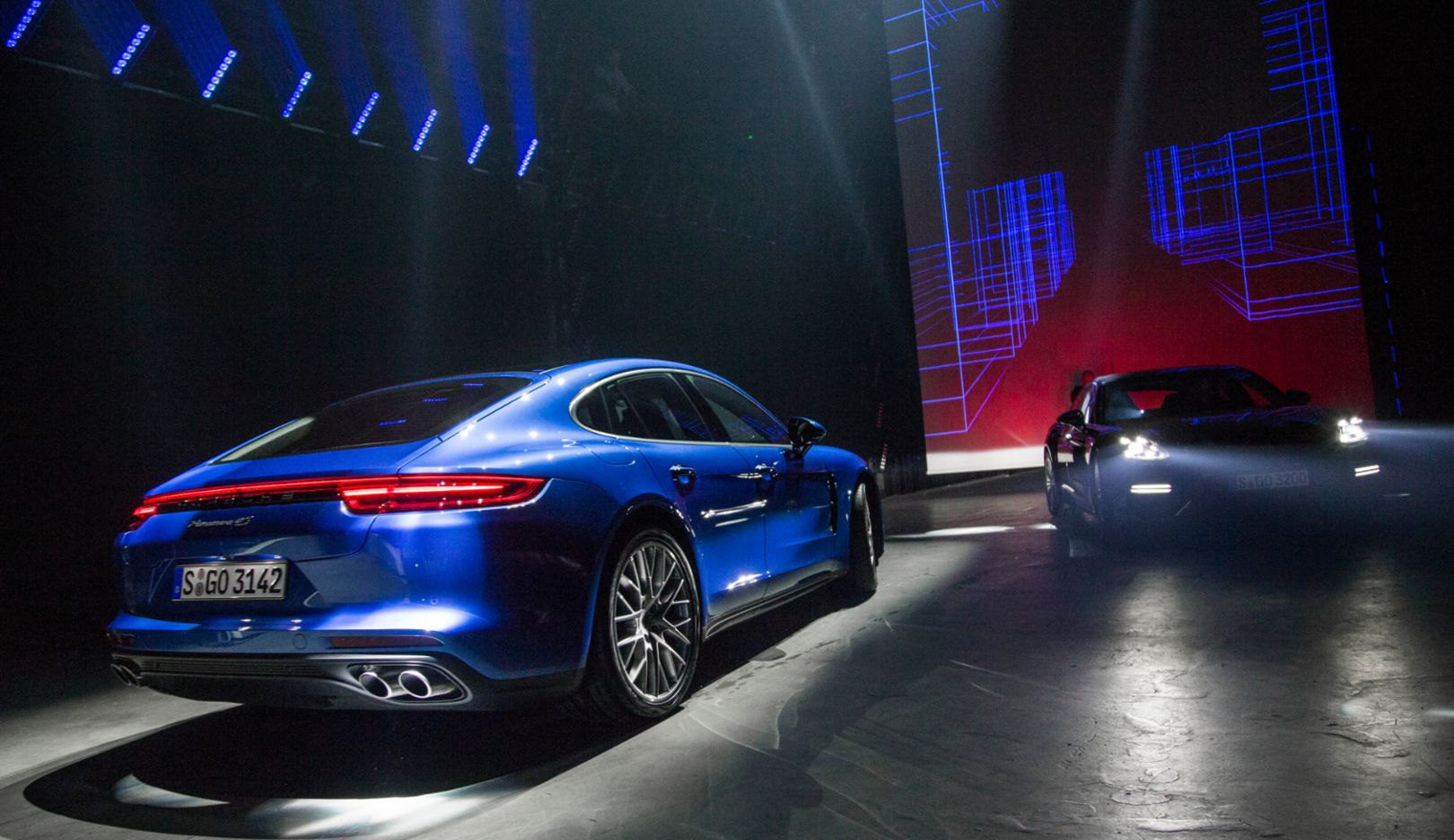 Panamera ( поколение G2), мировая премьера в Берлине, 2016, Porsche AG