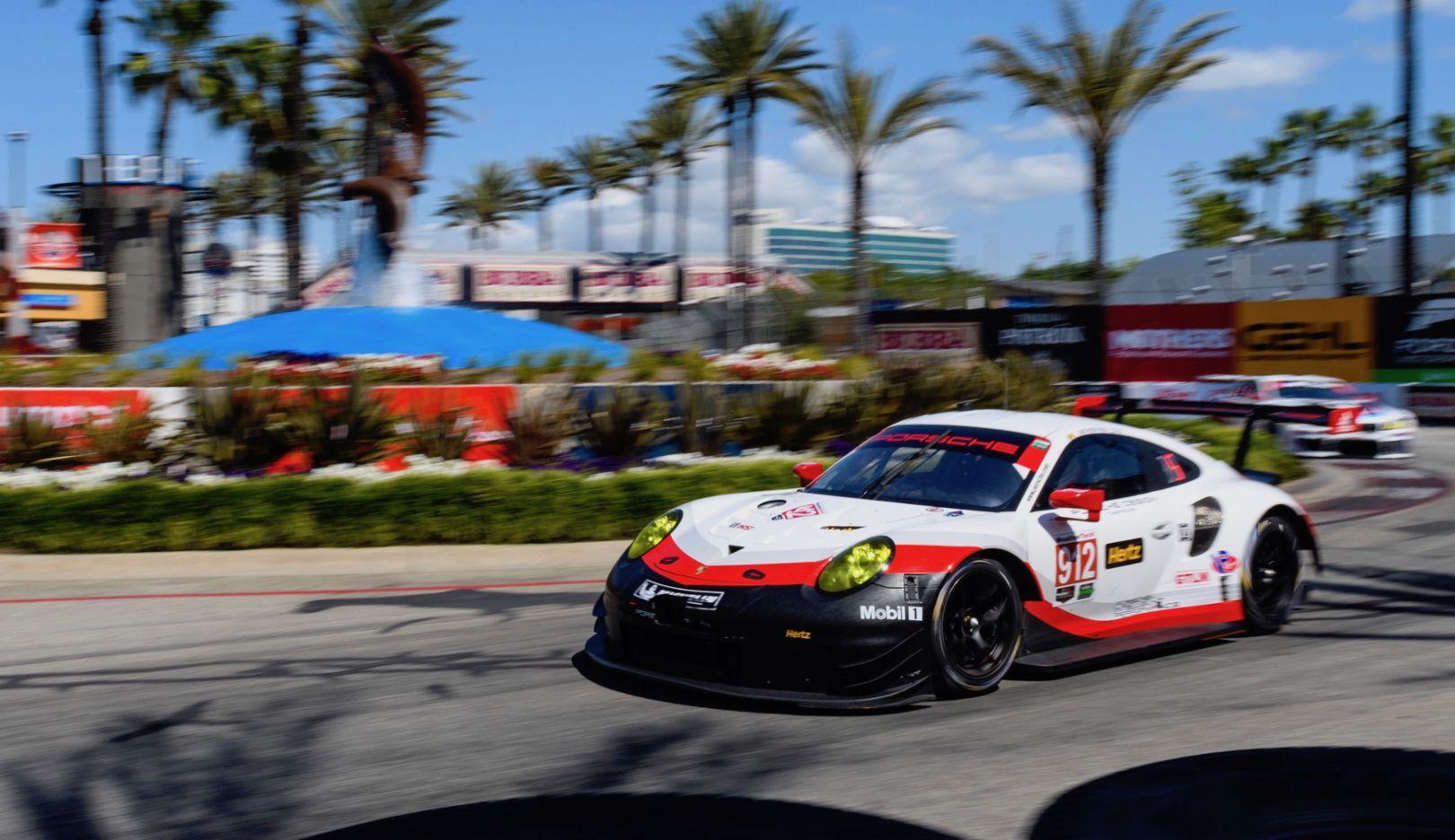 911 RSR, IMSA SportsCar Championship, Long Beach, USA, 2017, Porsche AG