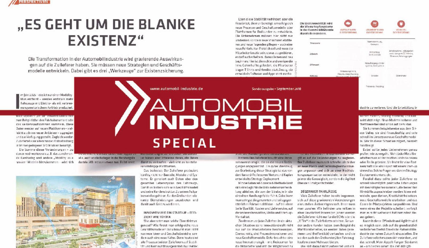 Automobil Industrie Spezial, 2018, Porsche AG