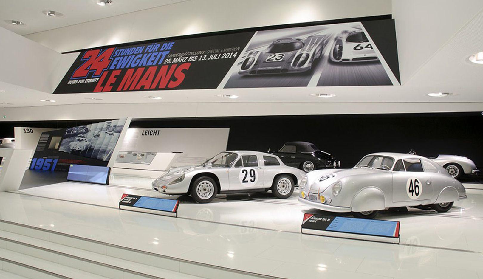 Exhibition Le Mans, Porsche museum, 2014, Porsche AG