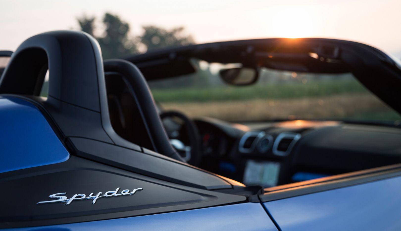 Boxster Spyder, Tuscany, 2015, Porsche AG