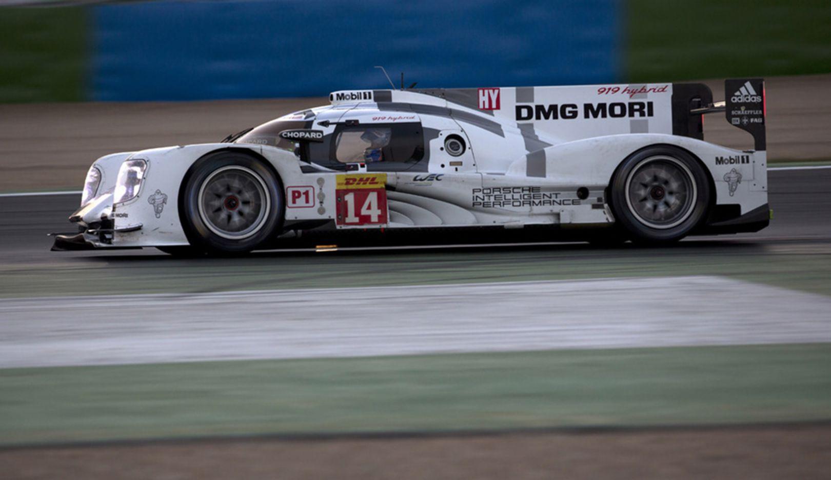 919 Hybrid, Testfahrt, Magny-Cours, 2014, Porsche AG