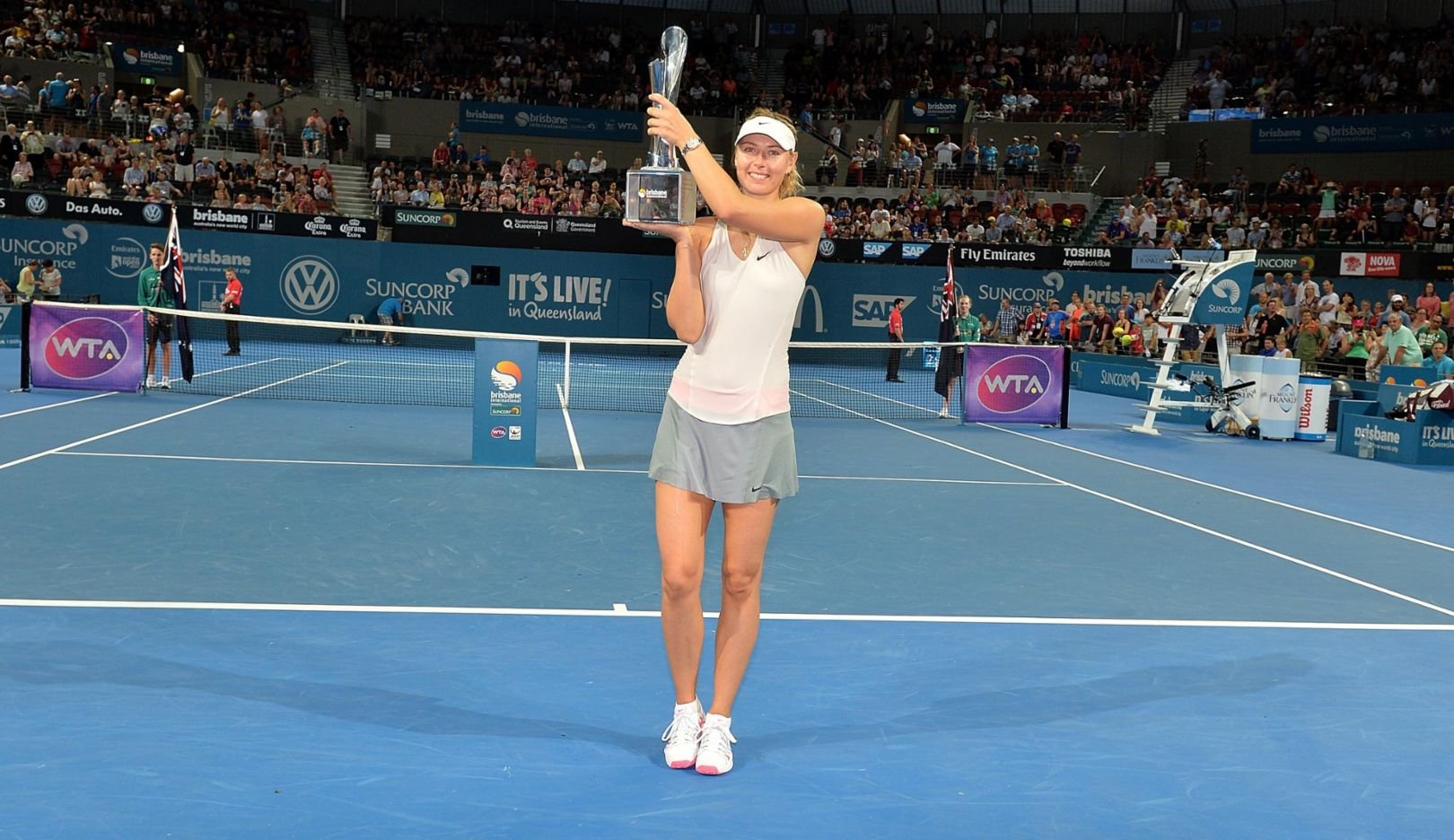 Maria Sharapova, Brisbane 2015