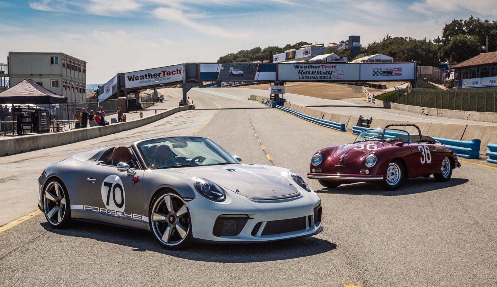 911 Speedster Concept, Rennsport Reunion VI, Weathertech Raceway Laguna Seca, 2018, Porsche AG
