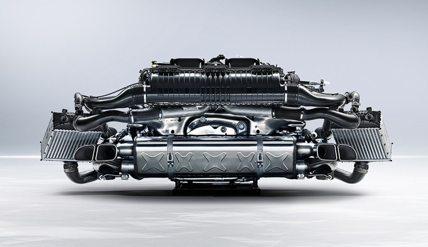 Boxer engines in the 911 Turbo, 2014, Porsche AG