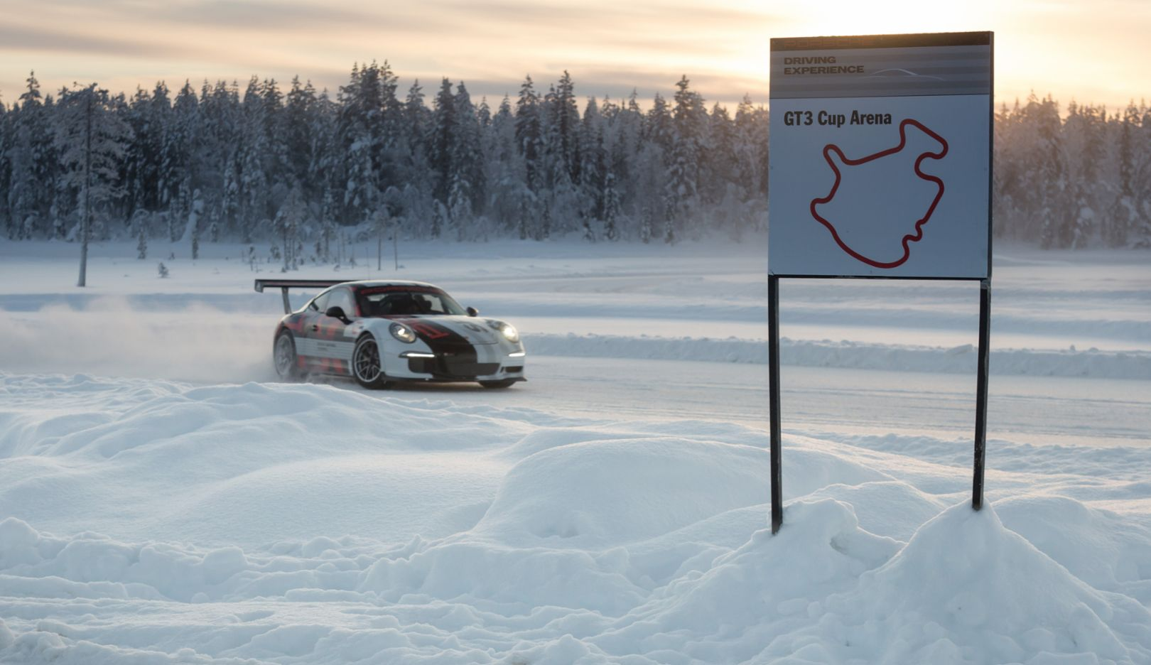 911 GT3 Cup, Porsche Driving Experience, Ice Force Finland, Levi, 2015, Porsche AG