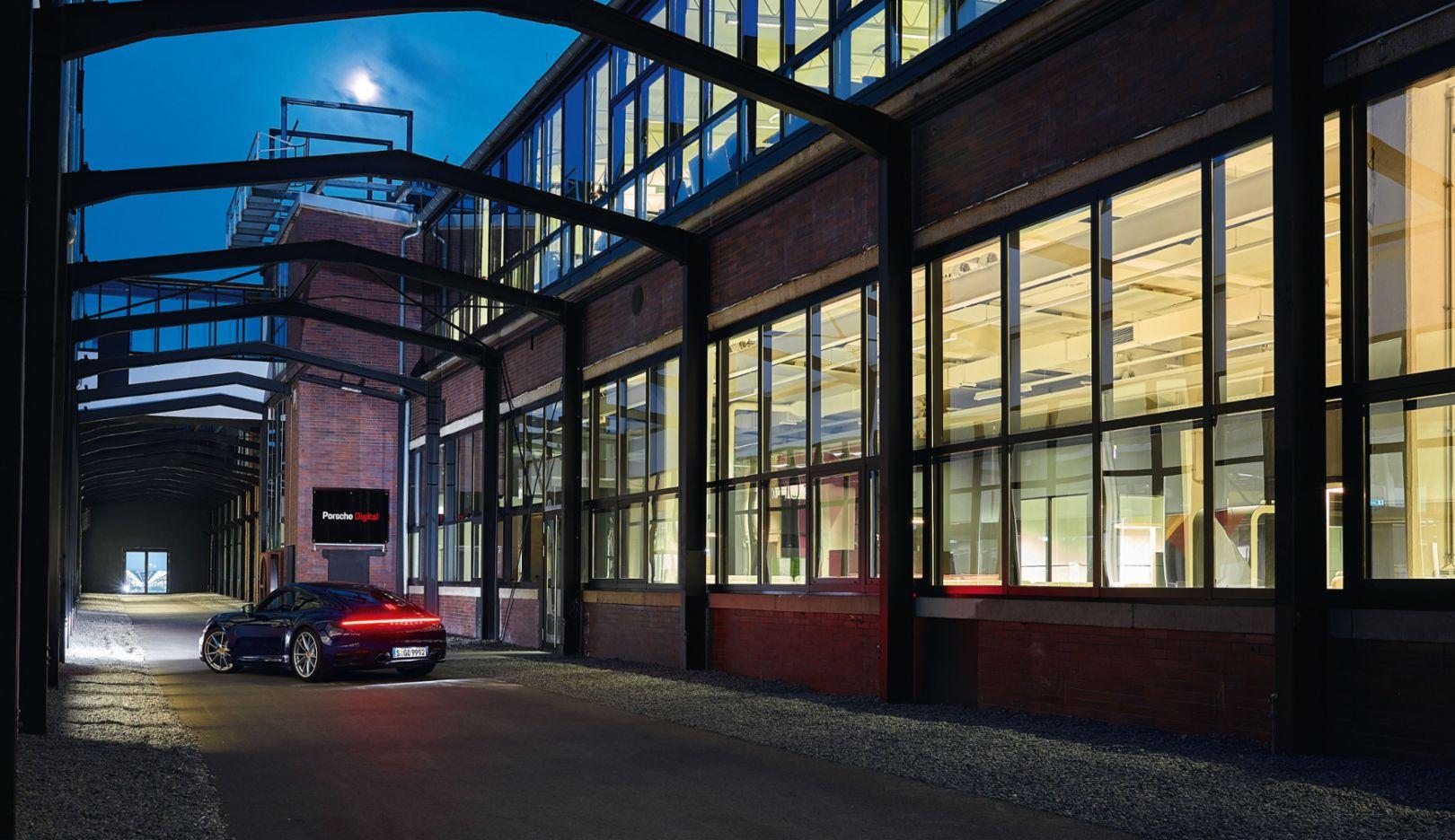 Porsche 911, Porsche Digital GmbH, Ludwigsburg, 2018, Porsche AG