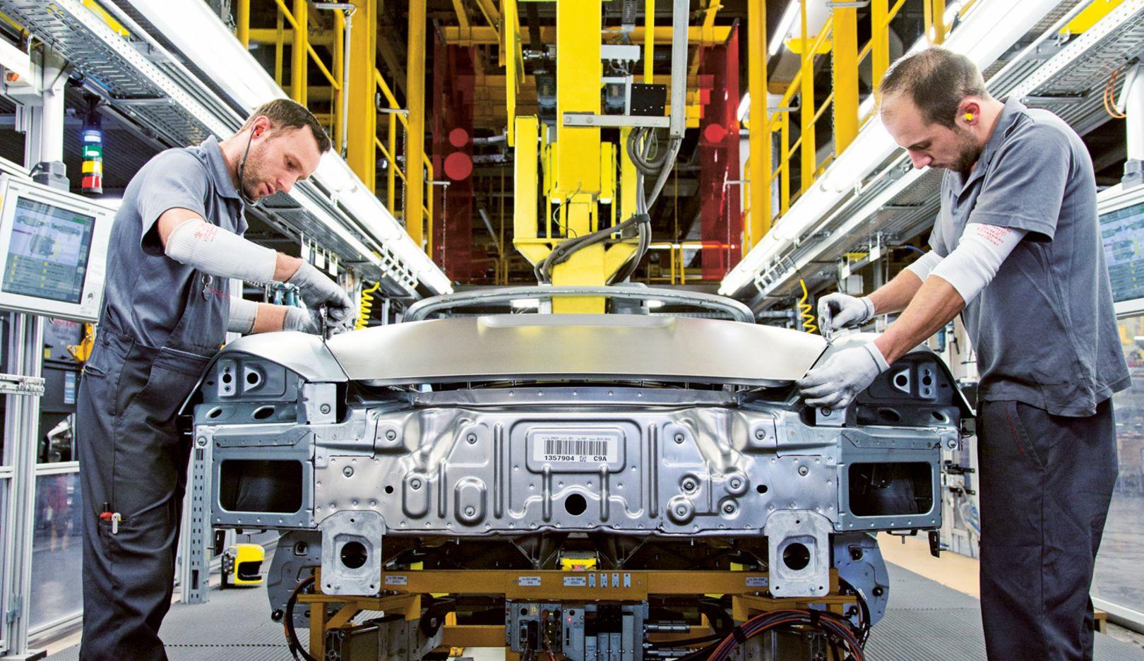 Produktion Zuffenhausen, 2015, Porsche AG