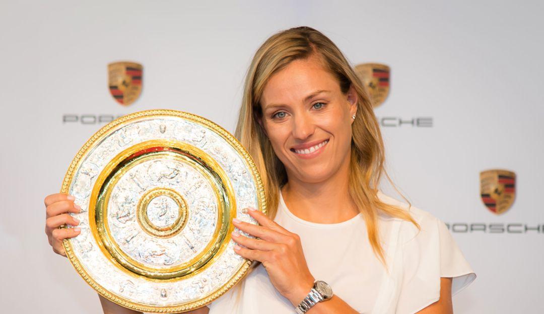 Angelique Kerber, Porsche-Markenbotschafterin, Wimbledon-Titel, Porsche Museum, 2018, Porsche AG