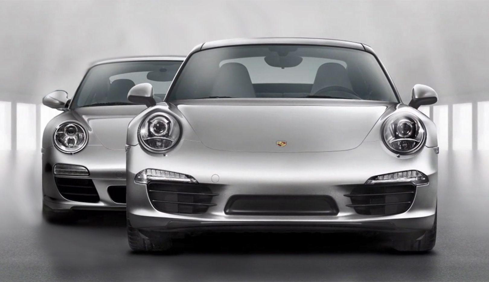 Porsche 911 (Typ 997, Typ 991, l-r), 2018, Porsche AG