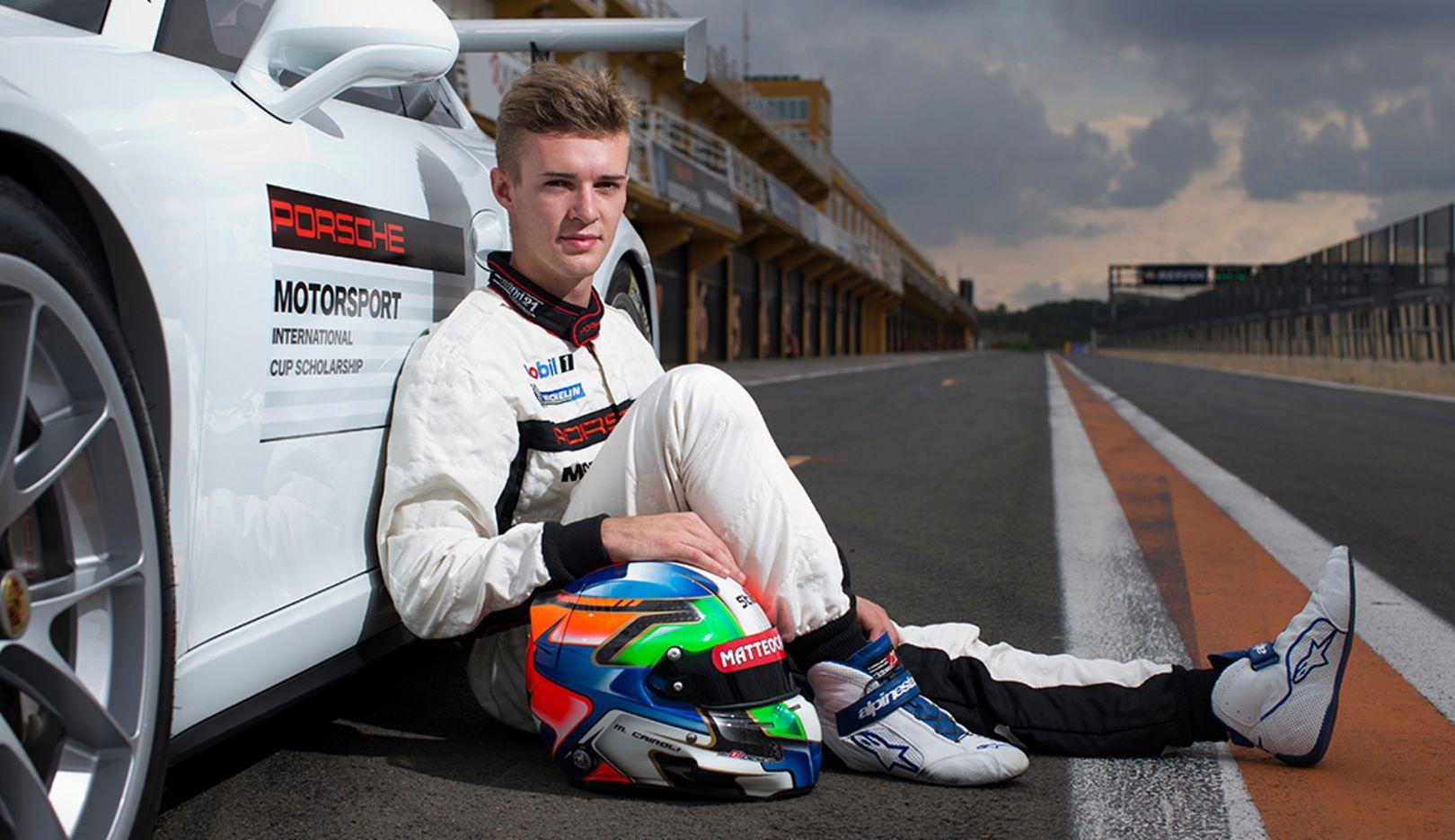 Matteo Cairoli, Porsche Cup Scholarship Gewinner, 2014, Porsche AG