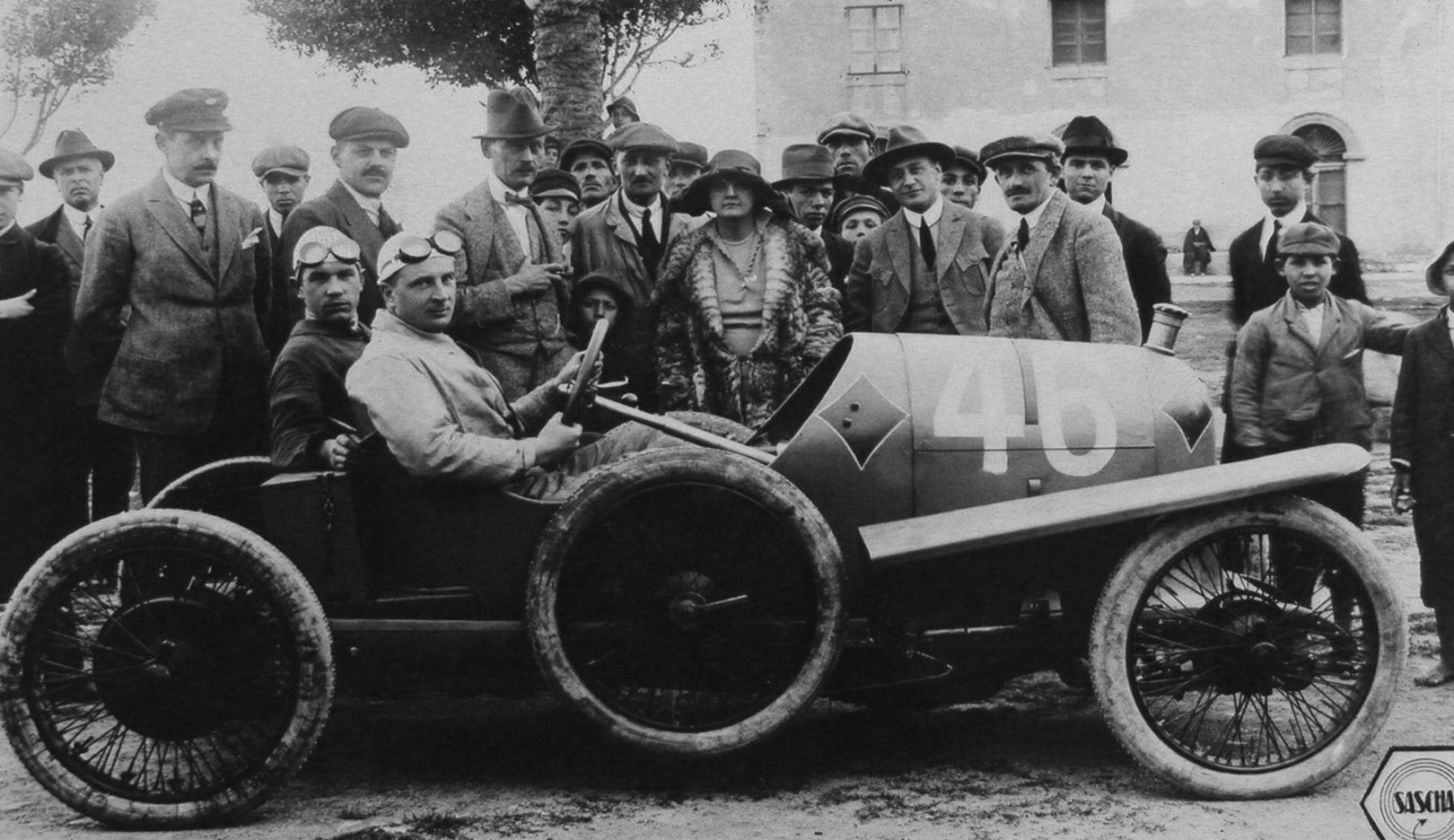 Ferdinand Porsche, Targa Florio 1922, 2016, Porsche AG