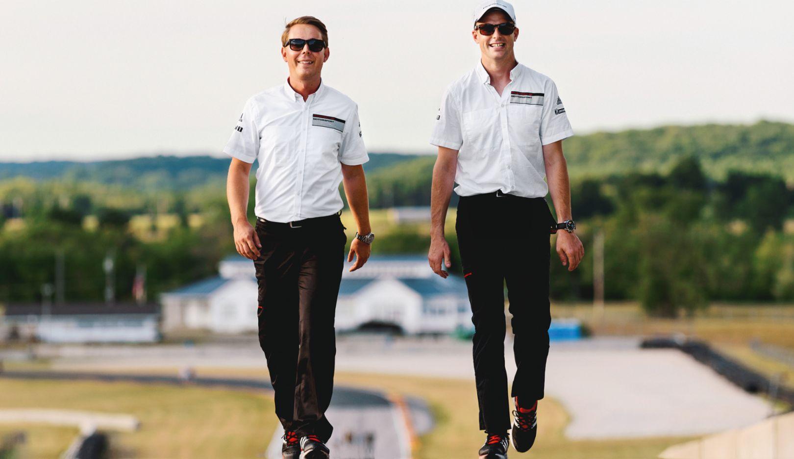 Steffen Höllwarth, Earl Bamber, 2015, Porsche AG