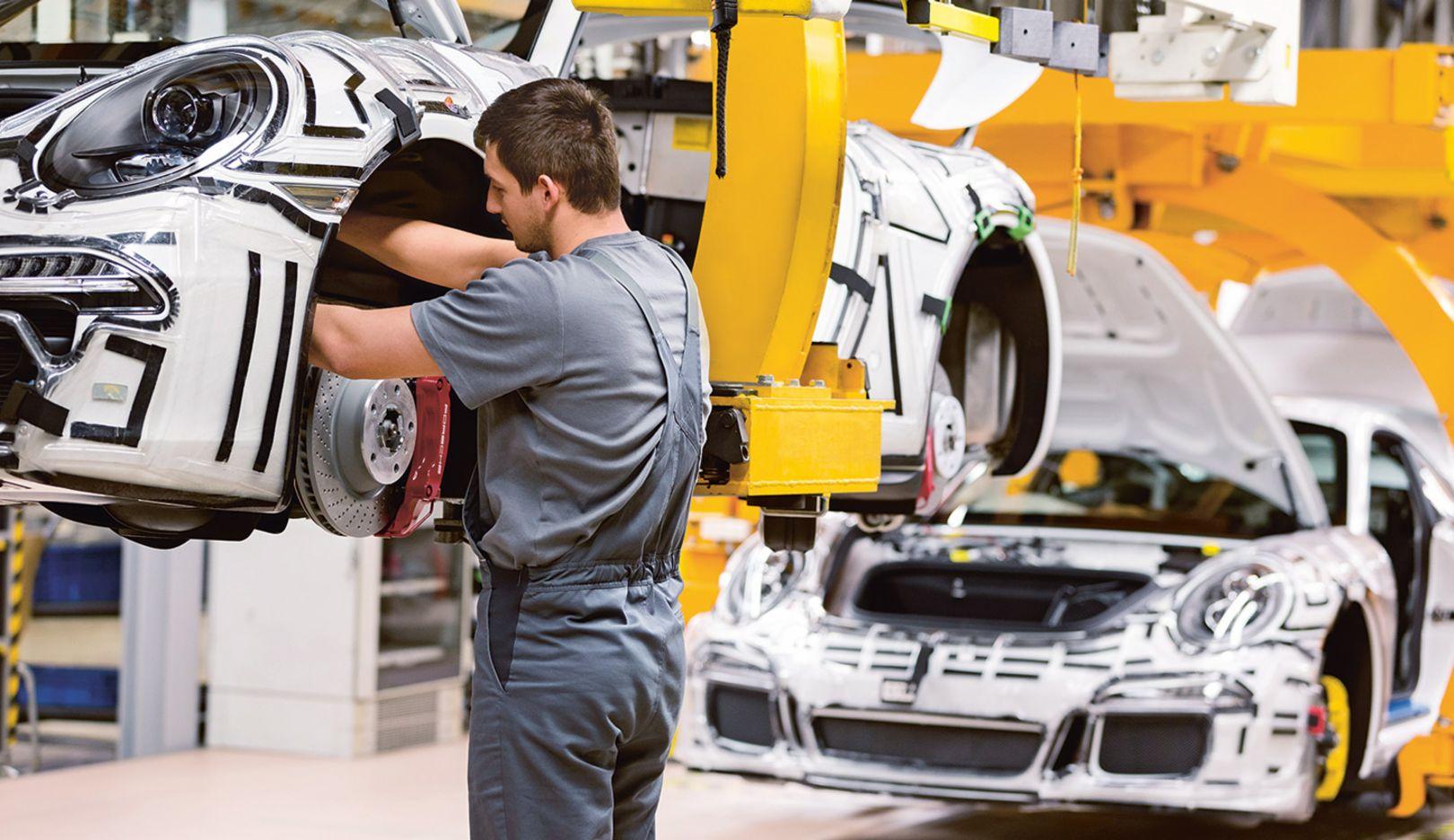 911 Carrera, Production Zuffenhausen, 2015, Porsche AG