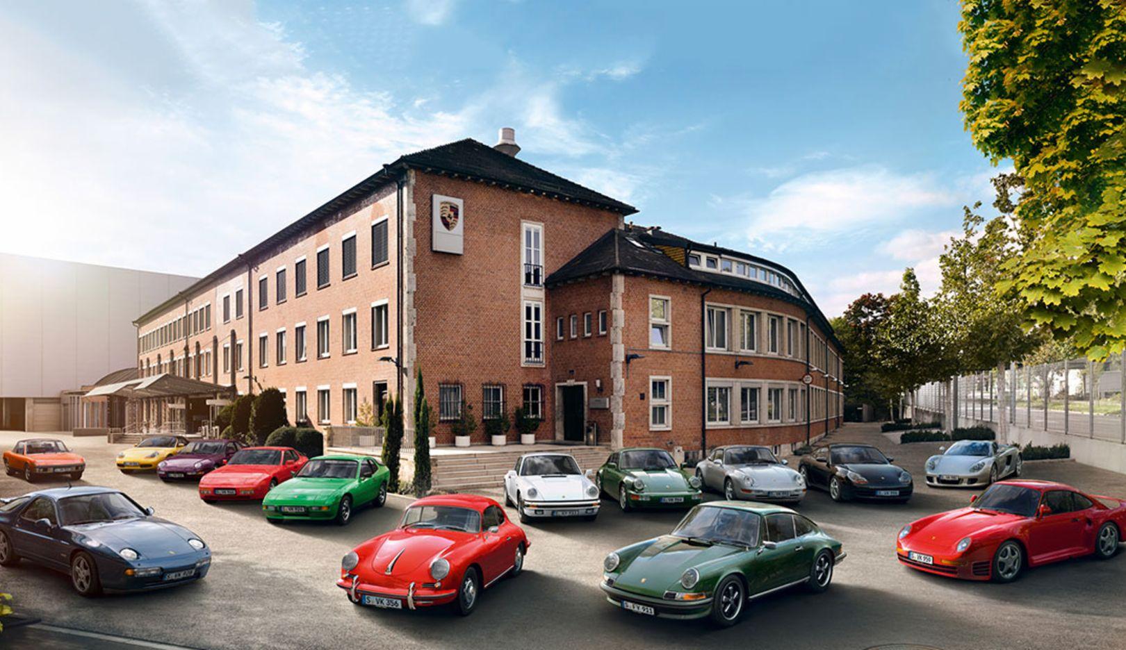 Porsche Classic model range, 2017, Porsche AG
