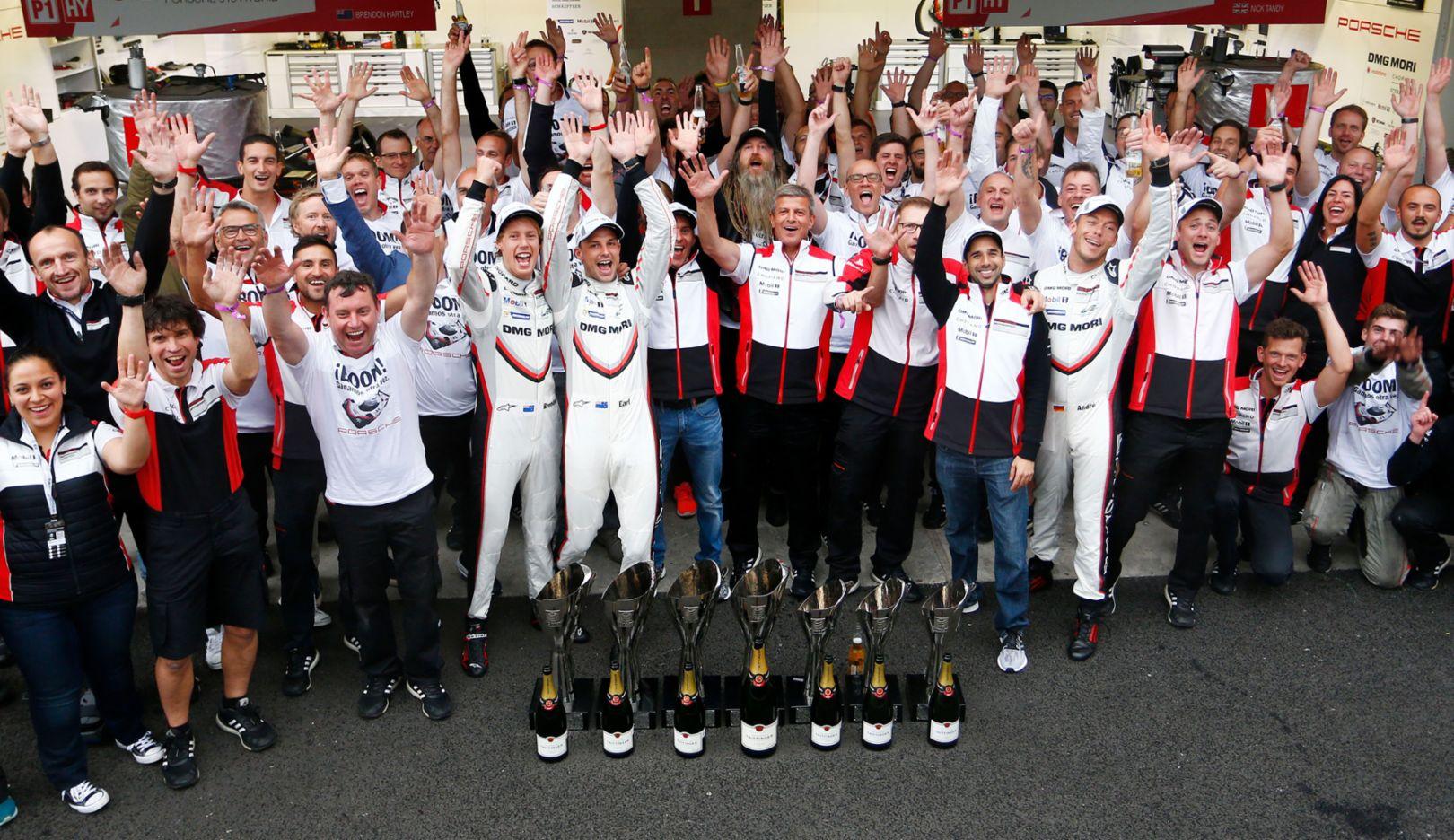 LMP team, WEC, Mexico City, 2017, Porsche AG