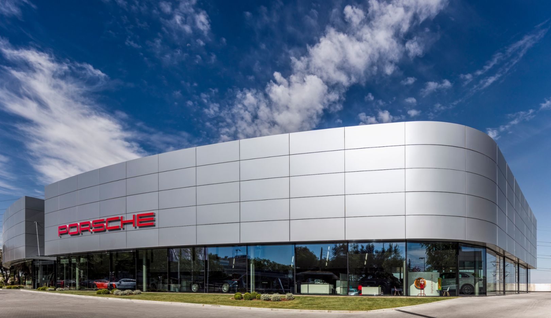Porsche Ibérica, nuevas oficinas, fotografía, Fernando Guerra, Madrid, 2019, Porsche Ibérica