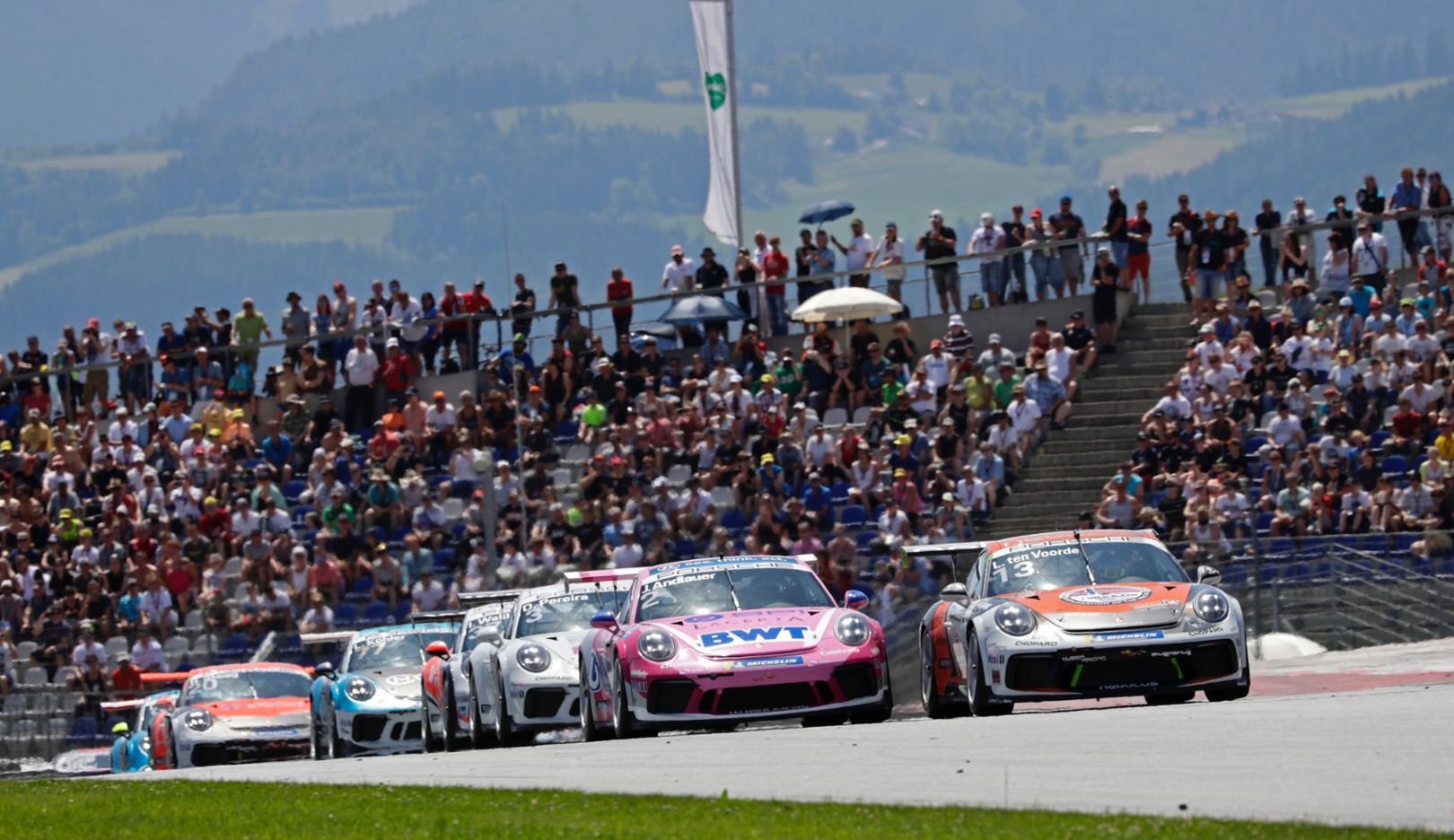 Porsche 911 GT3 Cup, Porsche Carrera Cup Deutschland, Spielberg, Austria, Race 6, 2019, Porsche AG