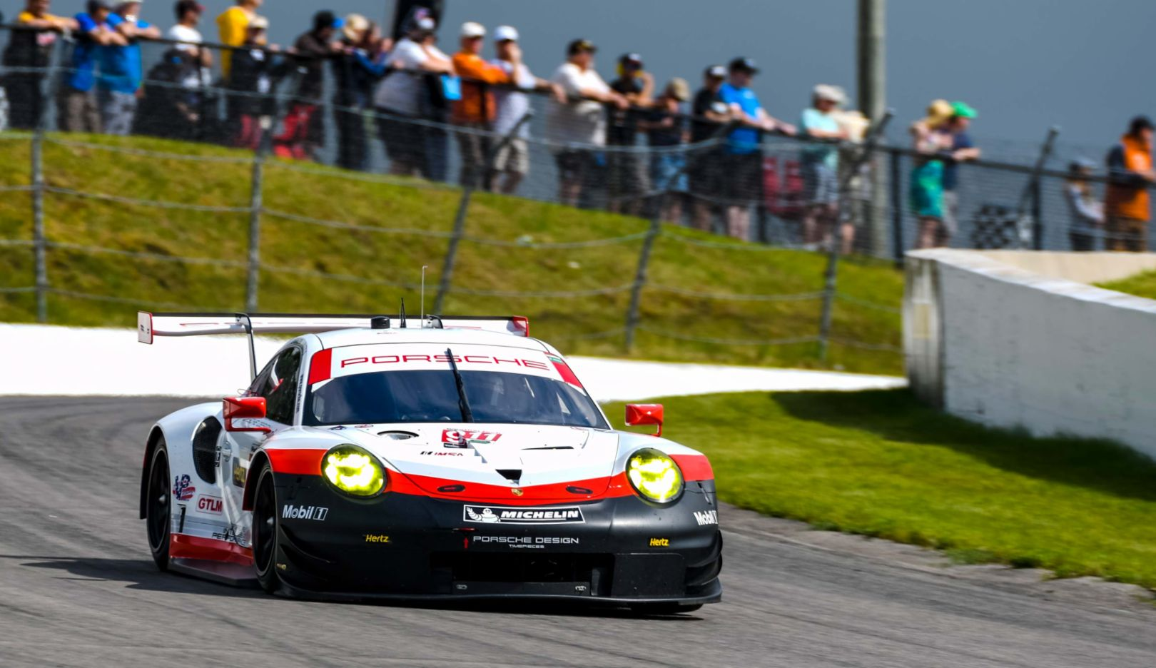 911 RSR, IMSA WeatherTech Sportscar Championship, Race 6, Bowmanville/ Kanada, 2017, Porsche AG