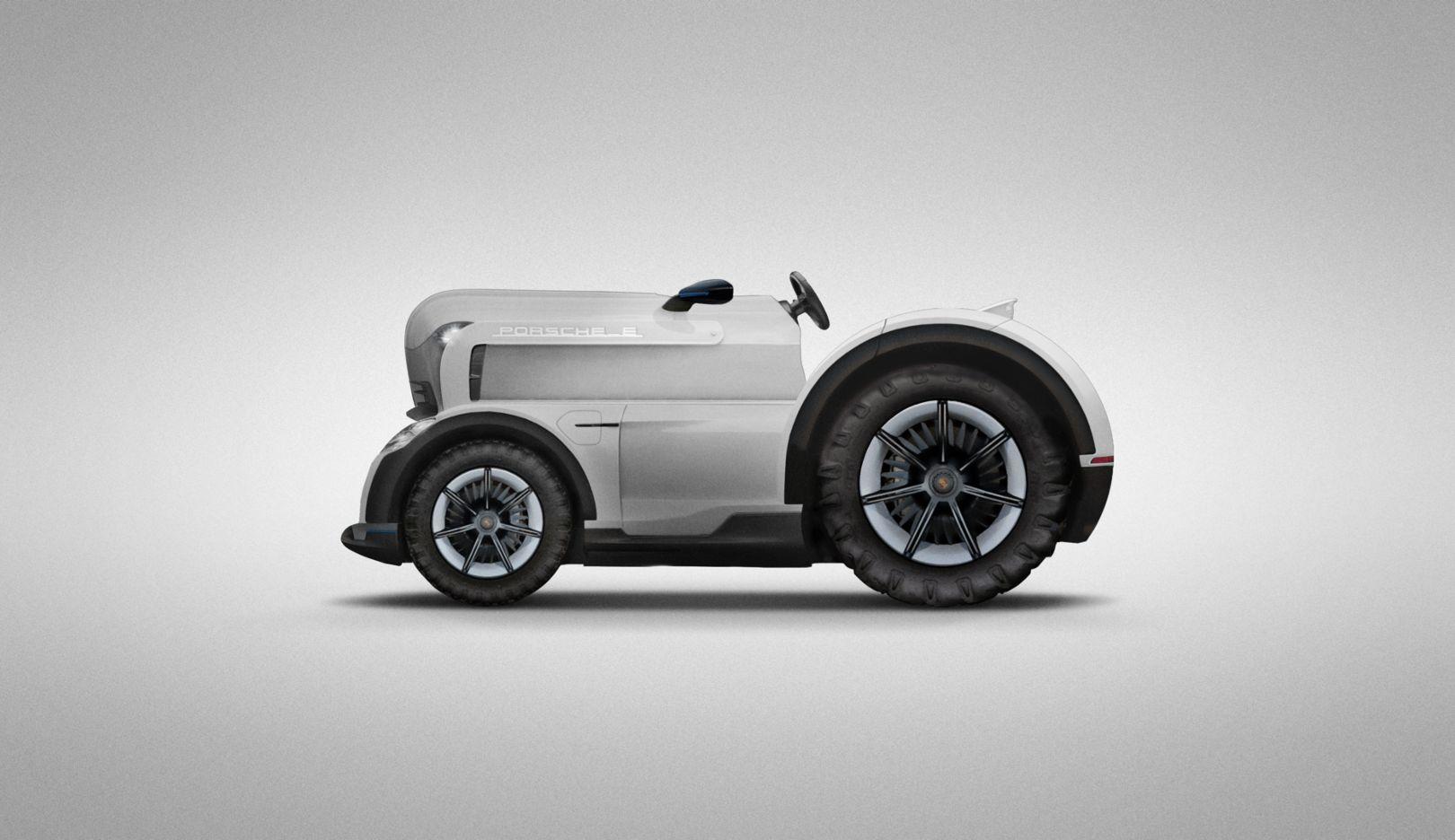 Mission E Tractor, 2018, Porsche AG