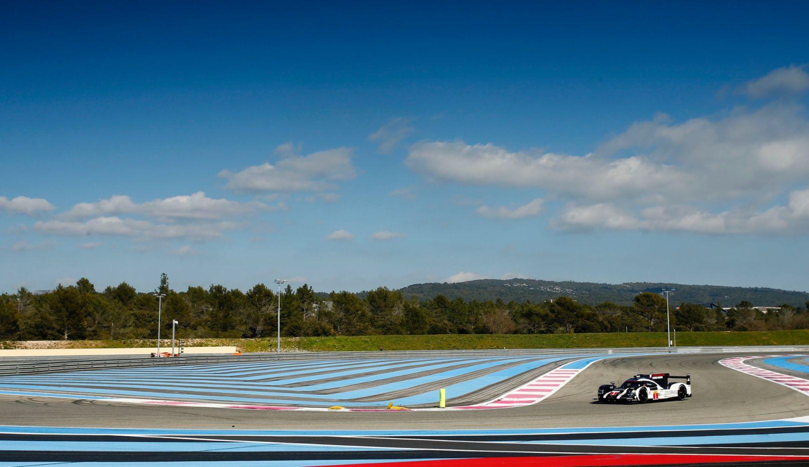 919 Hybrid, Paul Ricard, Frankreich, 2016, Porsche AG