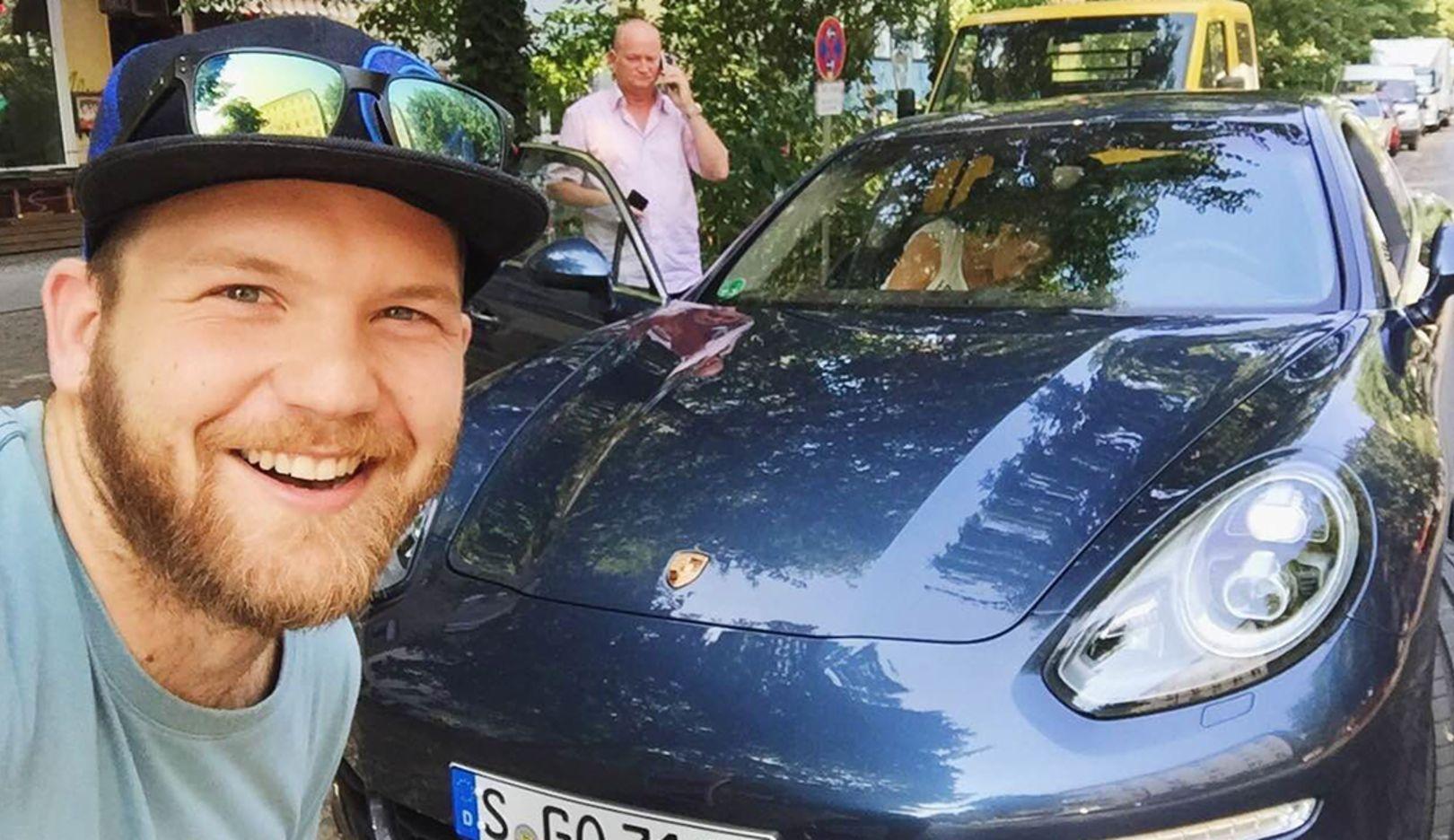 Sebastian Canaves, Travel Blogger, Panamera S, Berlin, 2015, Porsche AG