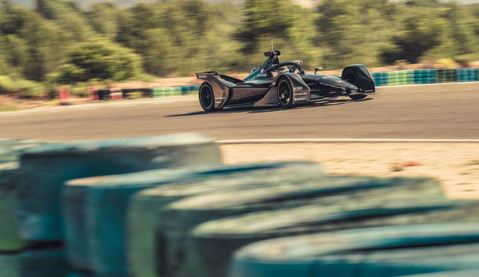 Porsche Formula E car, Calafat, 2019, Porsche AG