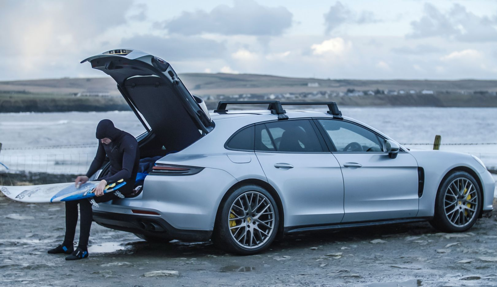 Mark Boyd, Panamera Turbo Sport Turismo, Thurso, Scotland, 2018, Porsche AG
