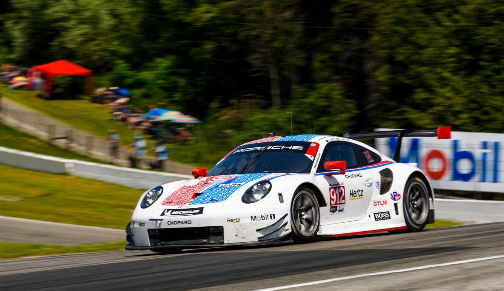 IMSA: New record: Porsche 911 RSR scores fifth straight win