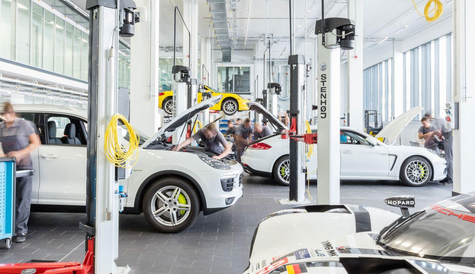 Industriewoche Baden-Württemberg, 2017, Porsche AG