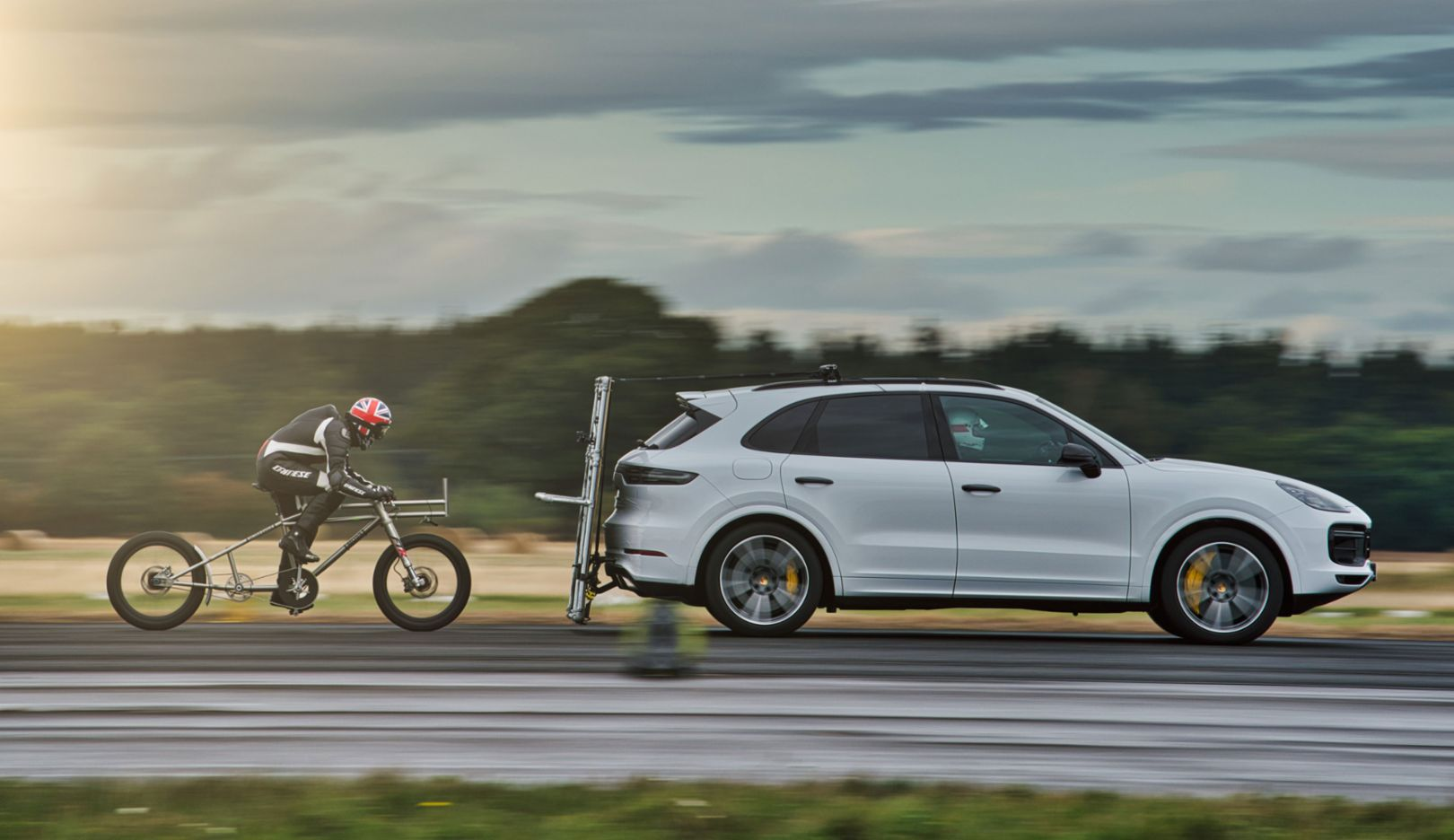 Campbell'S Used Cars >> Porsche Helps European Bicycle Land Speed Record To Be Broken