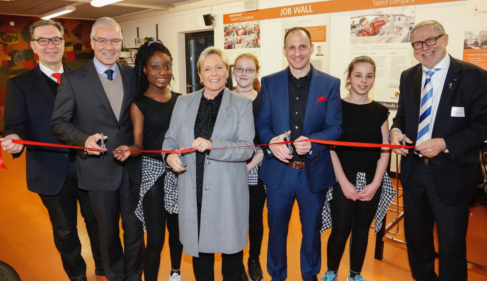 Rilke Realschule, 2018, Porsche AG