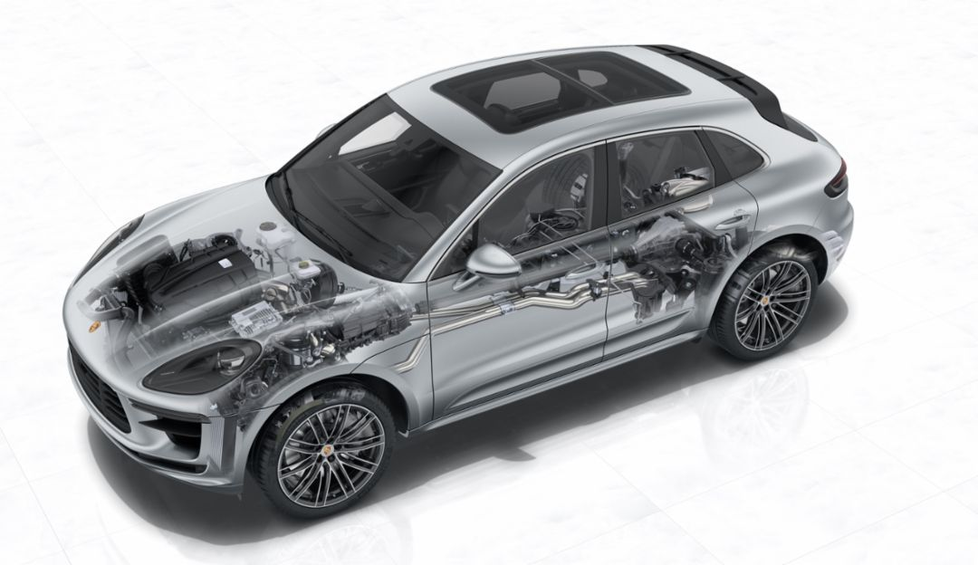 Macan Turbo - X-ray, 2019, Porsche AG