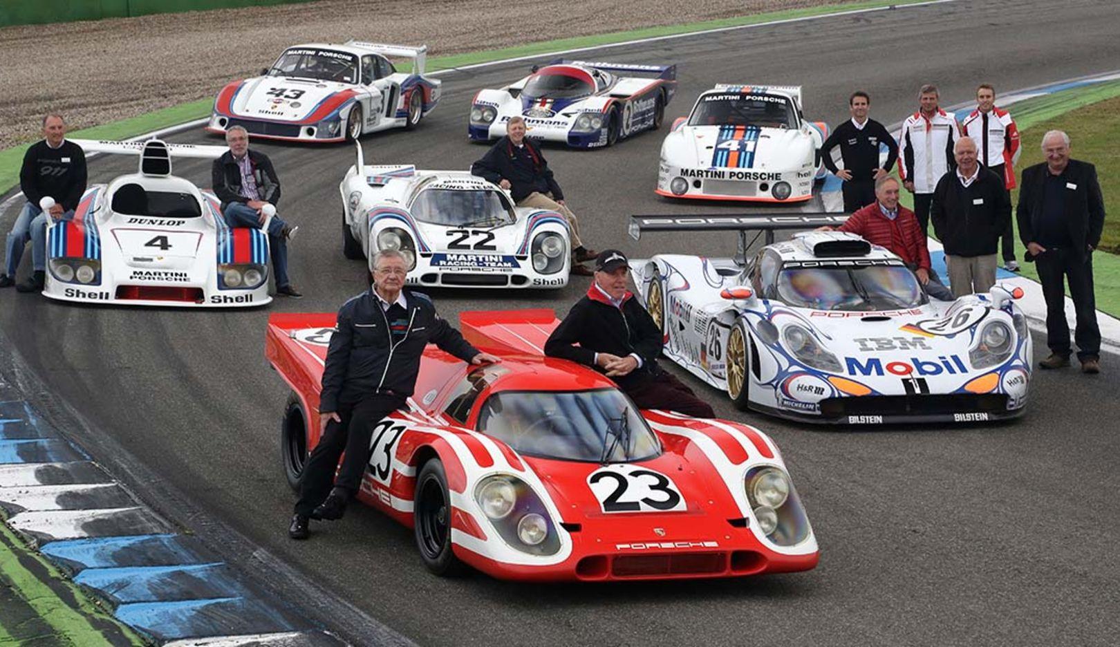Porsche-Legenden, Le Mans, 2014, Porsche AG