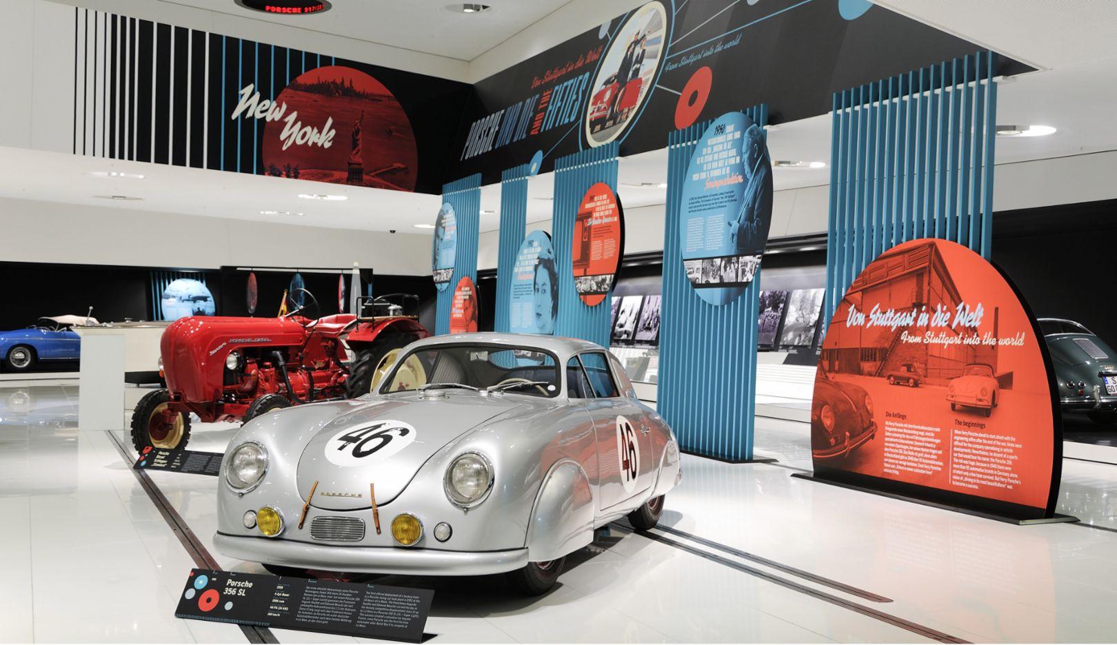 Porsche 356 SL, Sonderausstellung Porsche Museum, 2015, Porsche AG