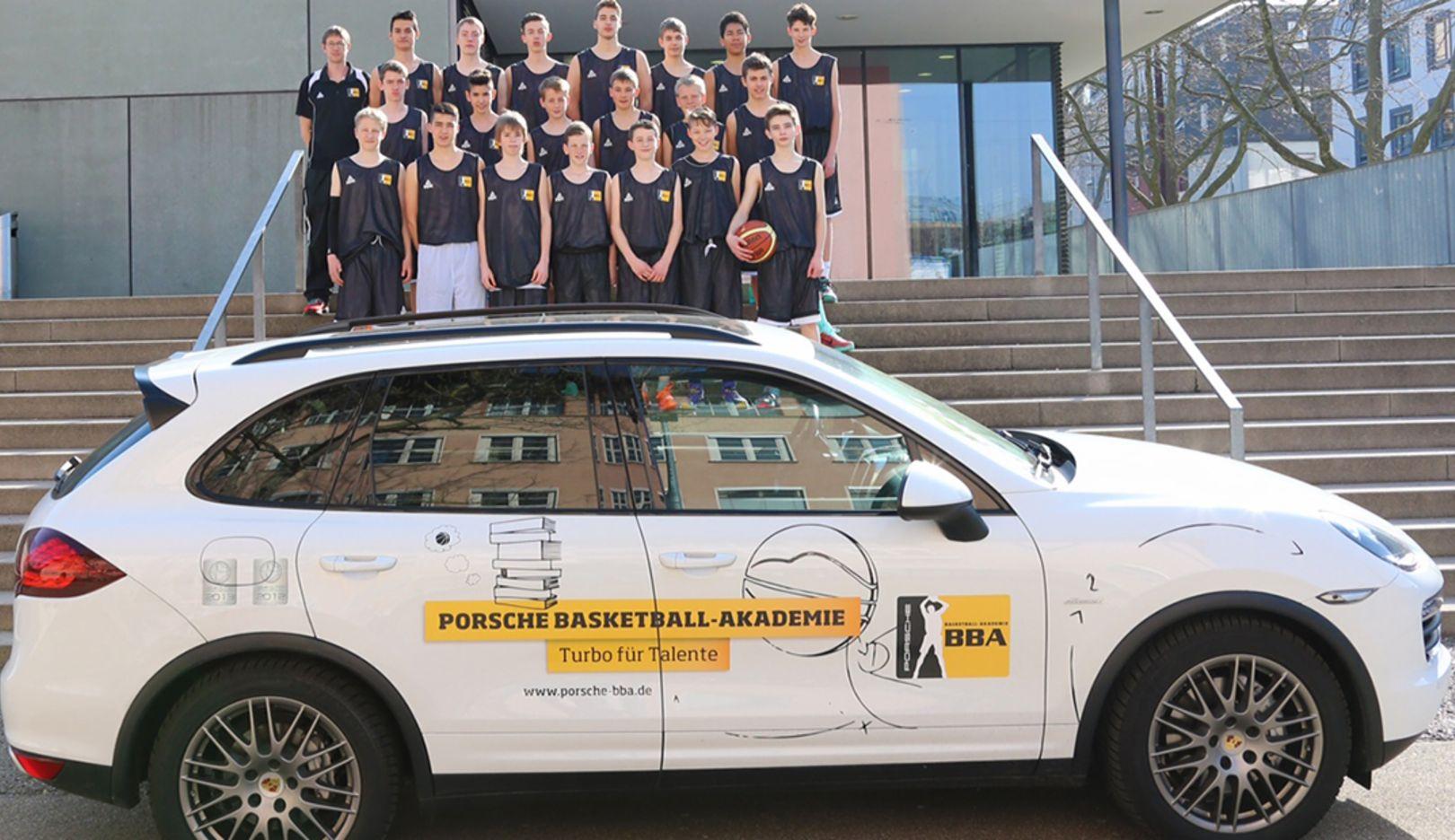 Nachwuchs der Porsche BBA Ludwigsburg, Porsche Jugendförderung, 2016, Porsche AG