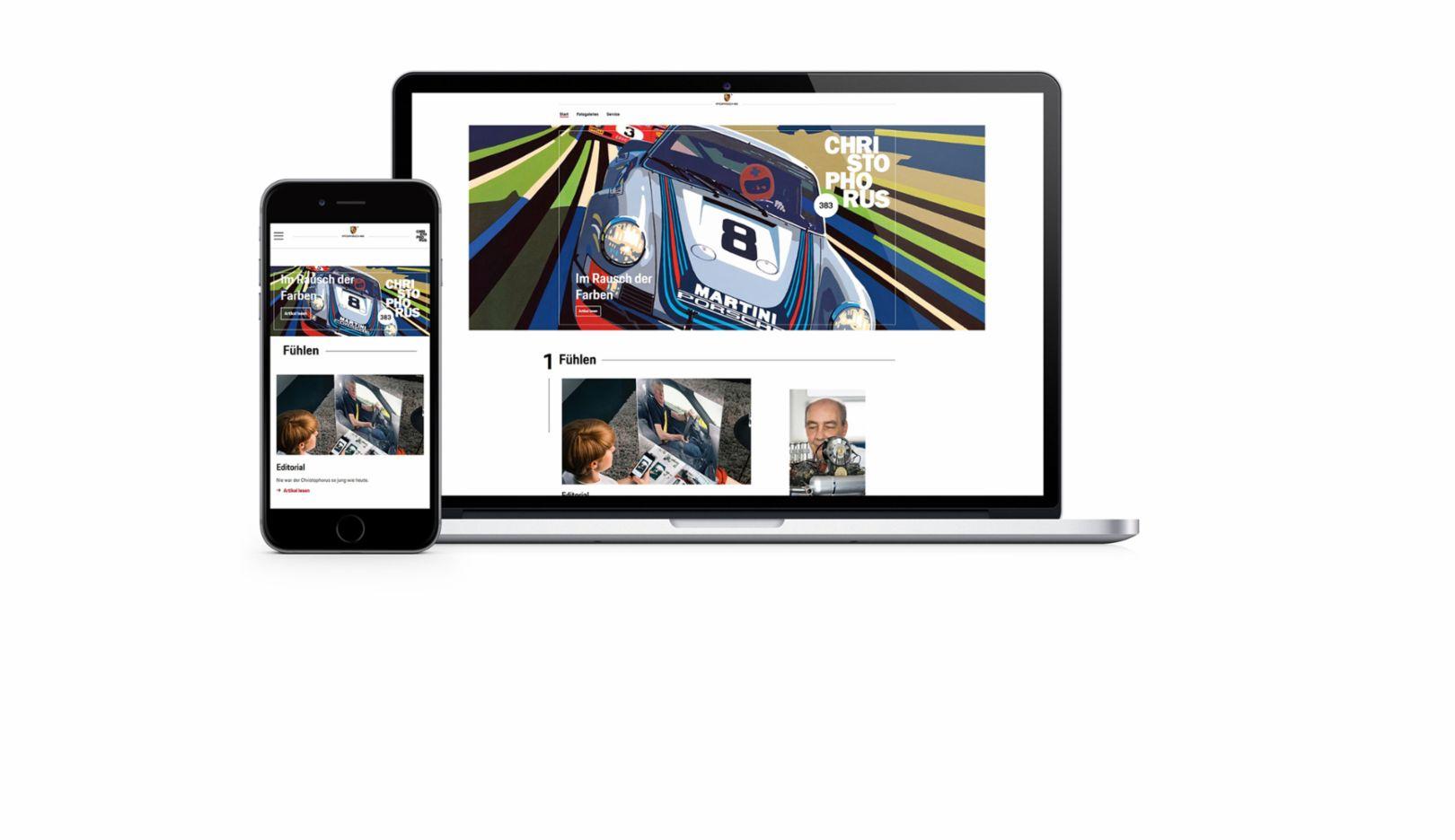 Christophorus Web-Magazin, 2017, Porsche AG