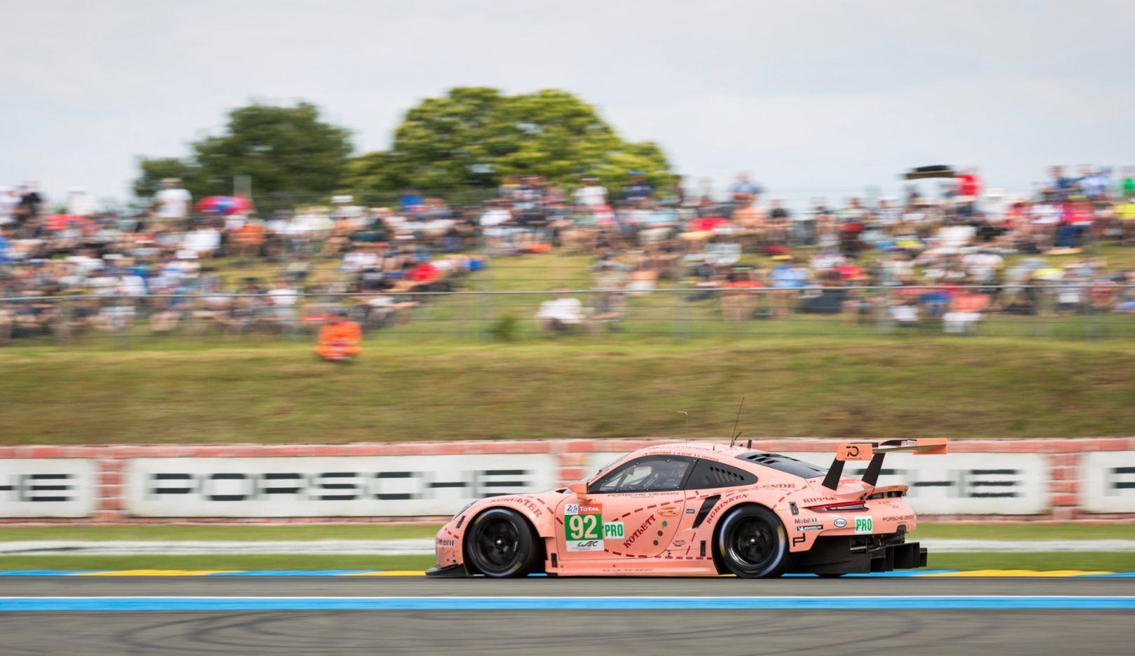 911 RSR (92), Race, Le Mans, 2018, Porsche AG