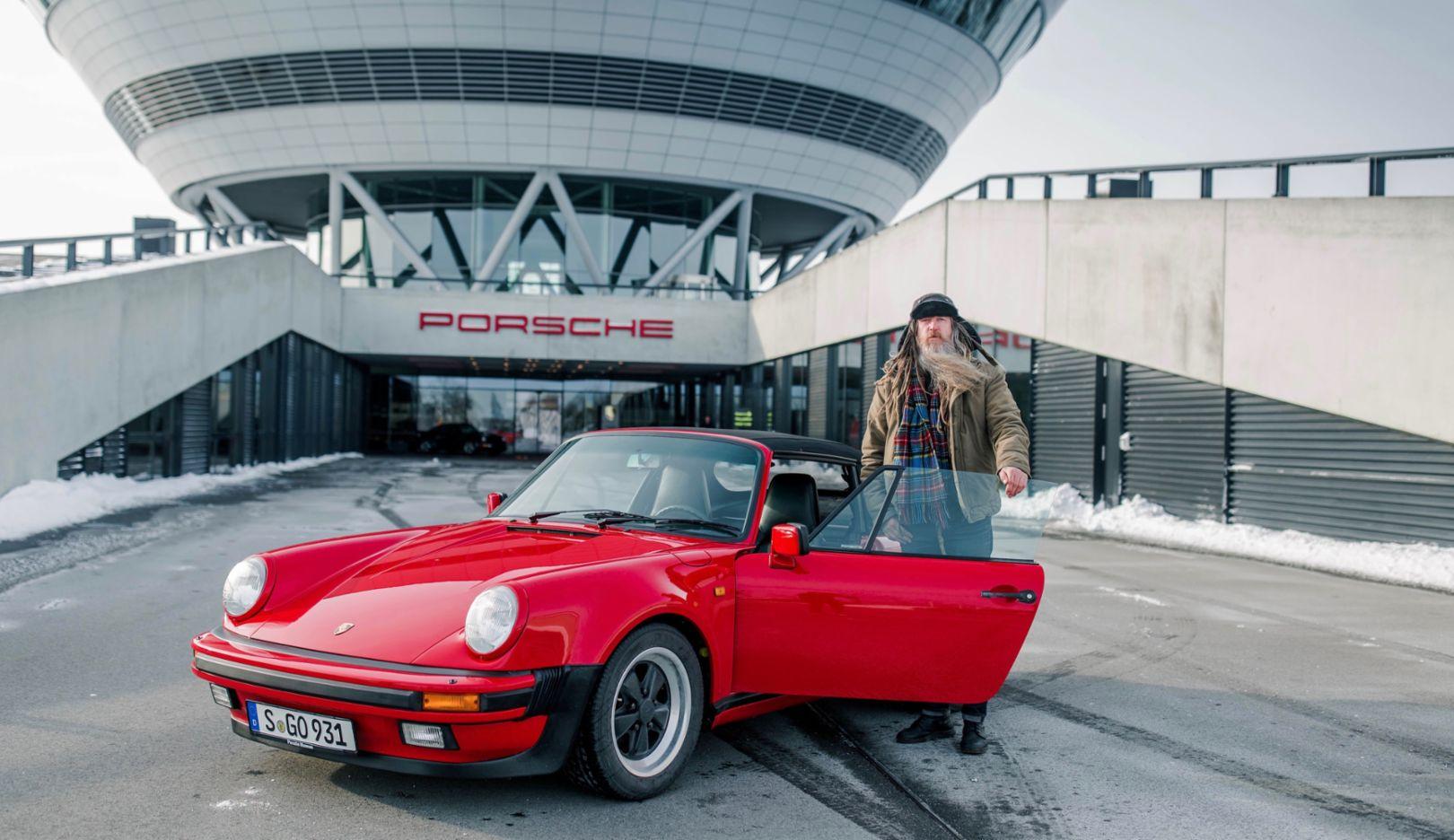 Magnus Walker, Porsche Leipzig, 2018, Porsche AG