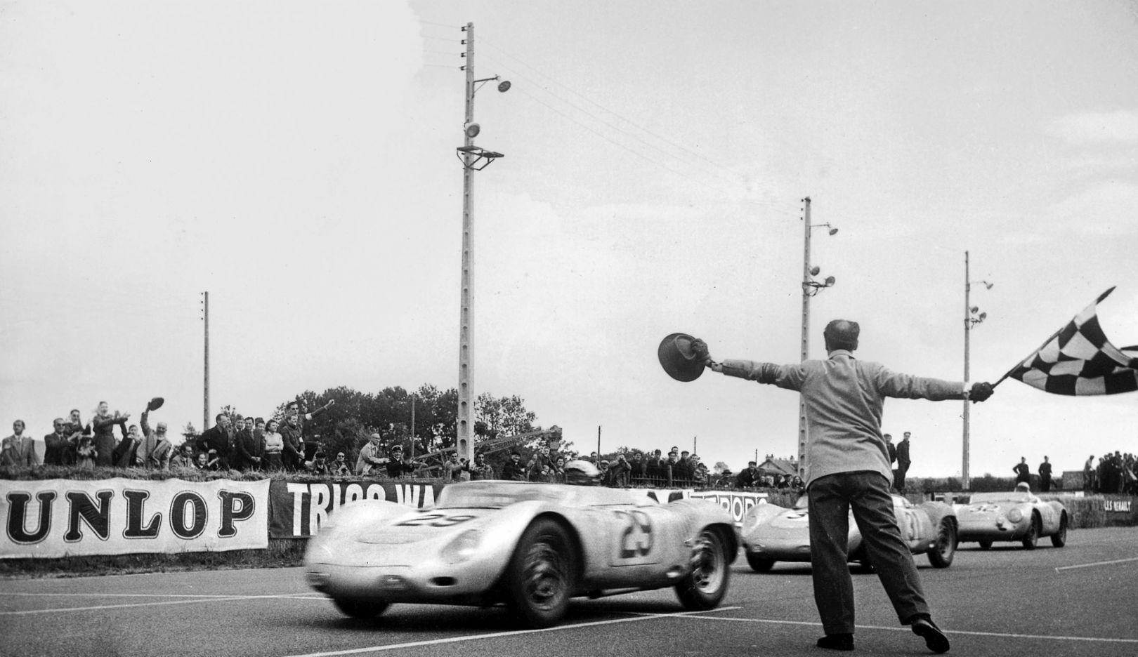 Jean Mehra, 718 RSK Spyder, Le Mans, 2016, Porsche AG