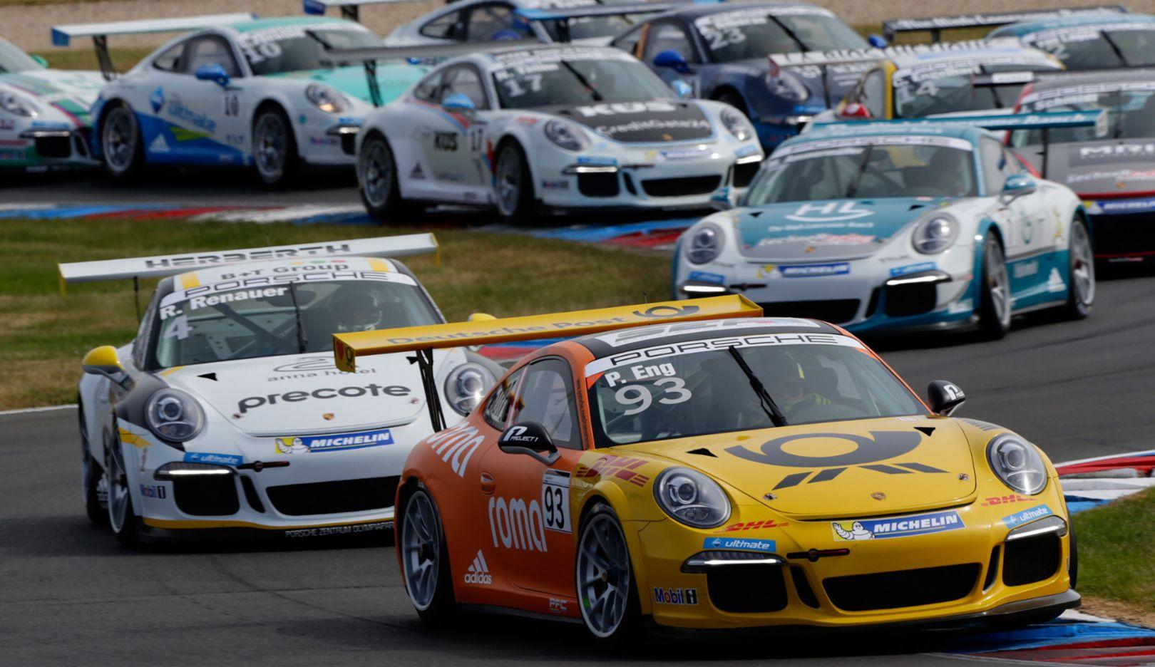 Porsche Carrera Cup Deutschland, Lausitzring 2015, Porsche AG