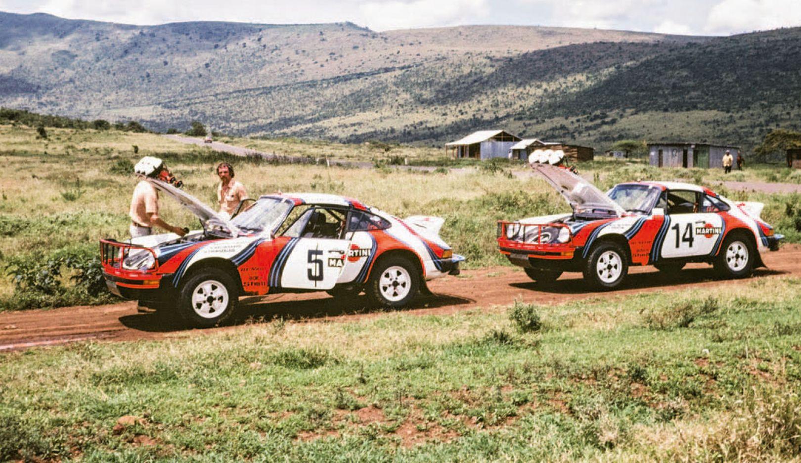 911 SC 3.0, East African Safari Rally, 1978, Porsche AG