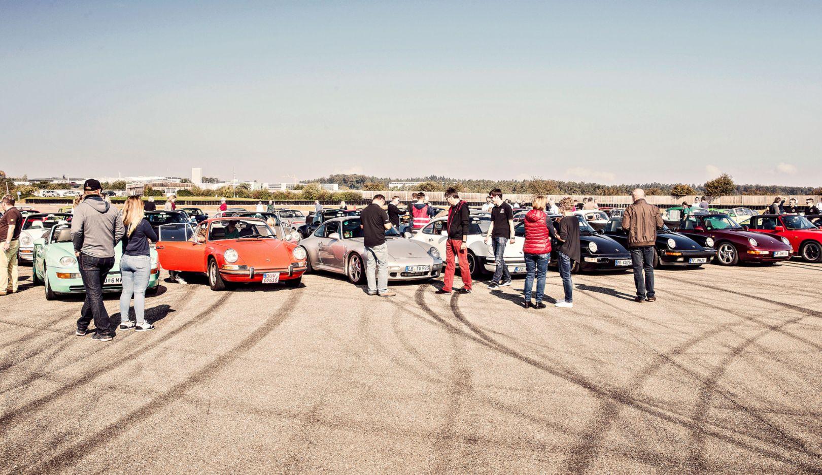 Freunde Luftgekühlter Boxermotoren, 2018, Porsche AG
