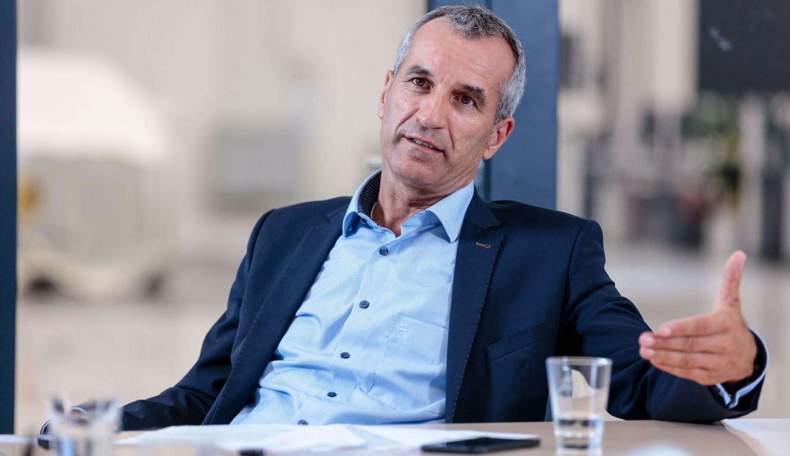 Albrecht Reimold, Member of the Executive Board for Production, Zuffenhausen, 2018, Porsche AG