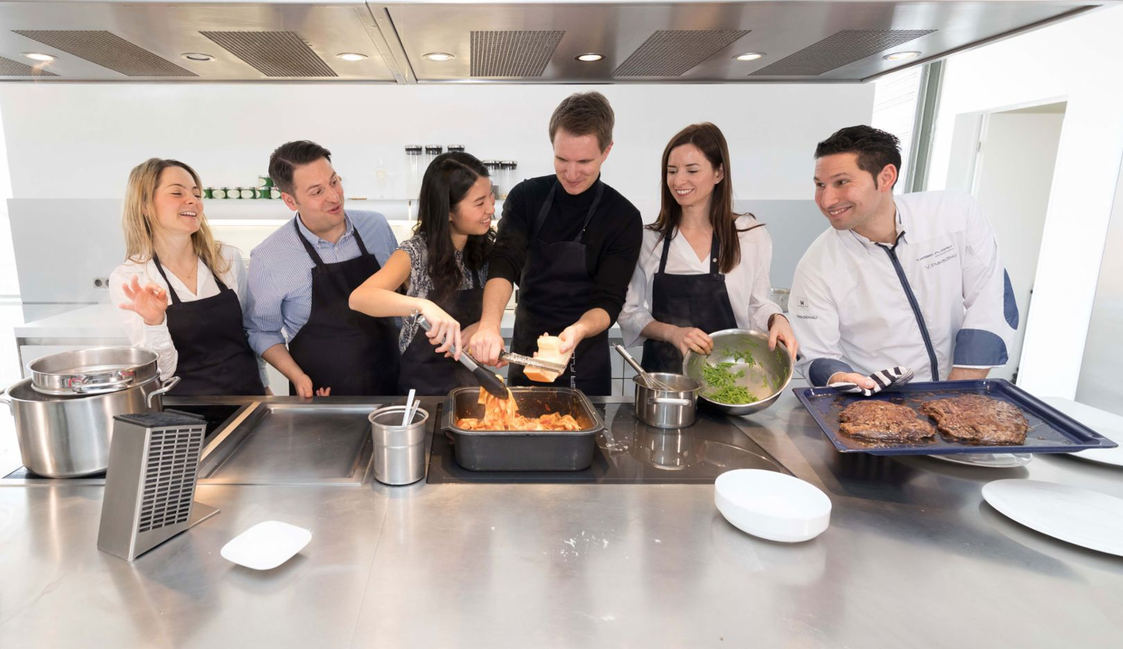 Cooking course, Böblingen, 2017, Porsche Consulting GmbH
