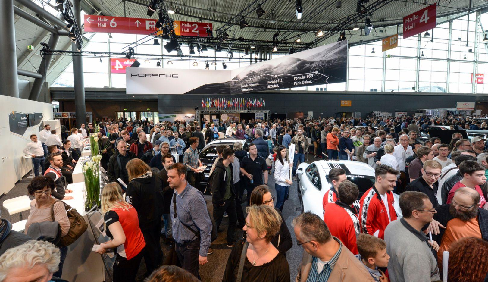 Retro Classics, Stuttgart, Germany, 2017, Porsche AG