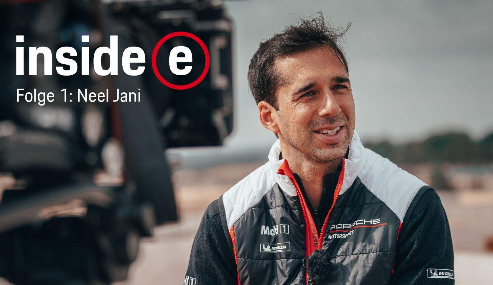 """""""Inside E"""", Porsche Formula E Podcast, Folge 1, 2019, Porsche AG"""