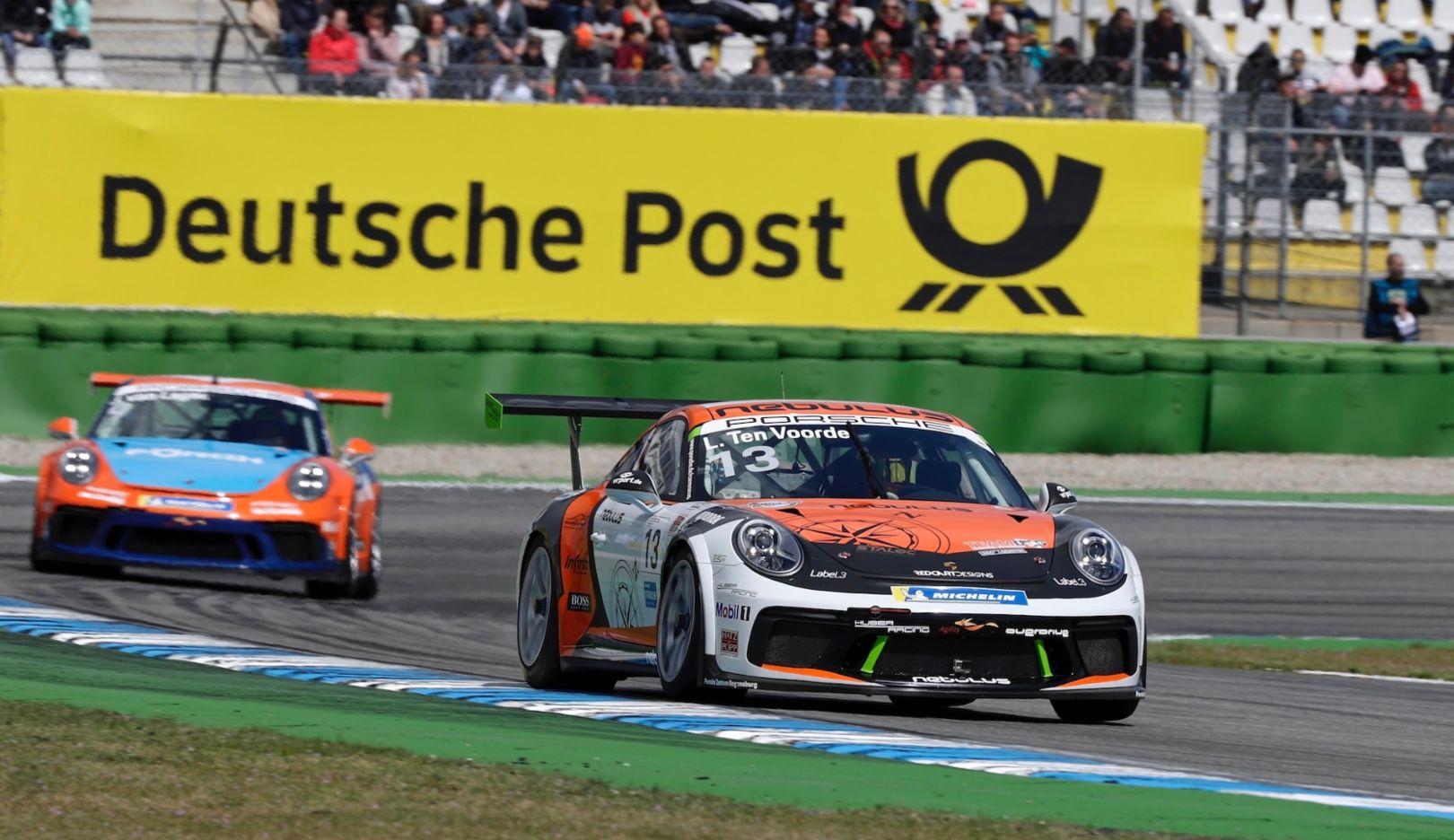 911 GT3 Cup, Porsche Carrera Cup Deutschland, Hockenheim, Race 2, 2019, Porsche AG