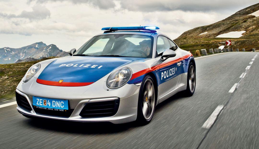 "Porsche 911 Carrera ""Polícia"""