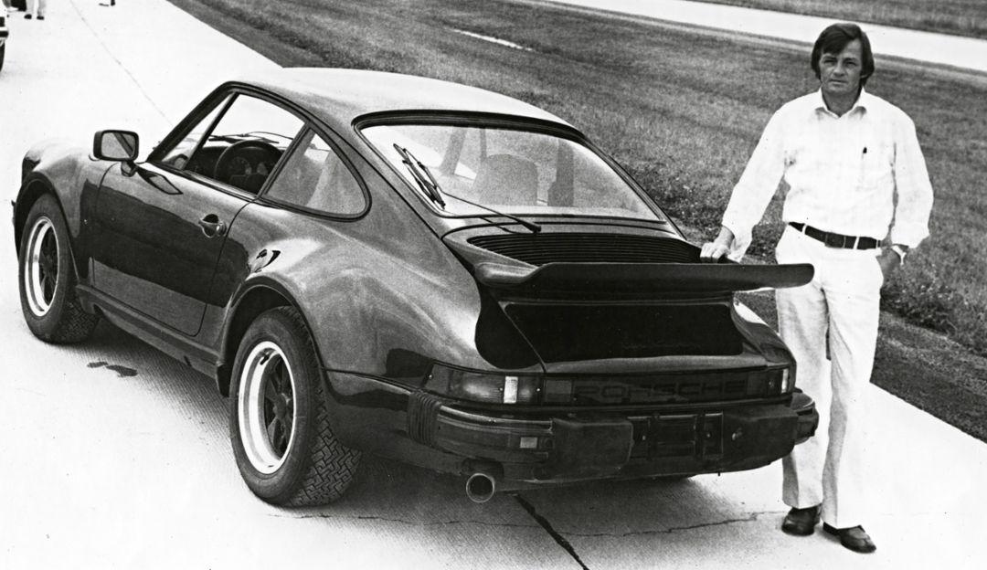 Hans Mezger, 911 Turbo, 1975, Porsche AG
